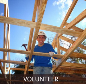 Volunteer for Habitat