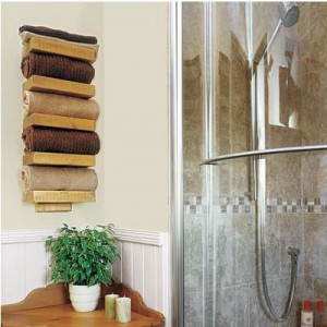 Towel Shelving Idea