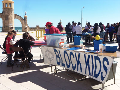 Block Kids event sponsored by NAWIC