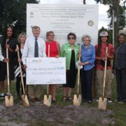 Rotary Club of Daytona Beach West Habitat Donation